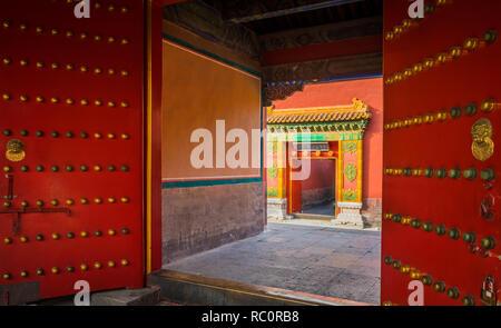 La Città Proibita è un complesso di palazzo nel centro di Pechino, Cina.