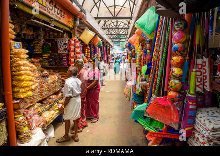 Mercato Conemara, Trivandrum, Kerala, India Foto Stock