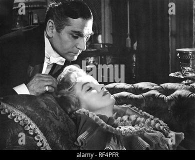 Il principe e la showgirl, Laurence Olivier e Marilyn Monroe, 1957 Foto Stock