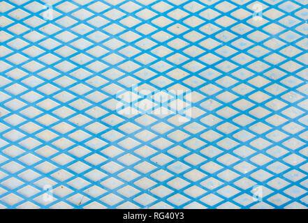 Nell'immagine si può vedere una delle linee di metallo sfondo per i progettisti. Foto Stock