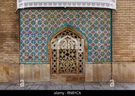 Mosaico persiano a Golestan palace