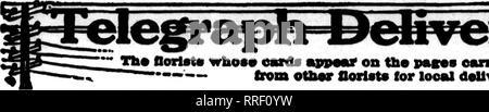 . Fioristi' review [microformati]. Floricoltura. 70 i fioristi^ rivedere Agosto 5, 1920. Si prega di notare che queste immagini vengono estratte dalla pagina sottoposta a scansione di immagini che possono essere state migliorate digitalmente per la leggibilità - Colorazione e aspetto di queste illustrazioni potrebbero non perfettamente assomigliano al lavoro originale. Chicago : fioristi' Pub. Co Foto Stock