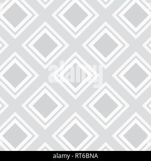 Vector seamless texture con stile etnico rombi. Foto Stock