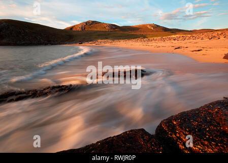 Sheigra Beach, Sutherland Foto Stock