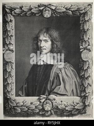 Denis Taloni. Robert Nanteuil (Francese, 1623-1678). Incisione