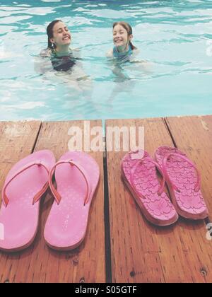 Suor tempo. L'estate. Foto Stock