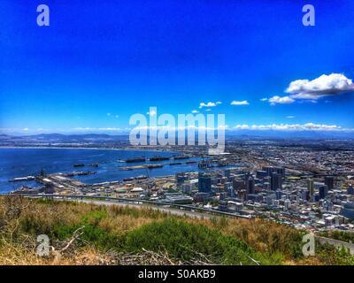 Città del Capo è la splendida baia Foto Stock