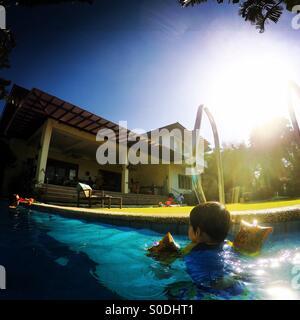 Brezza d'estate Foto Stock
