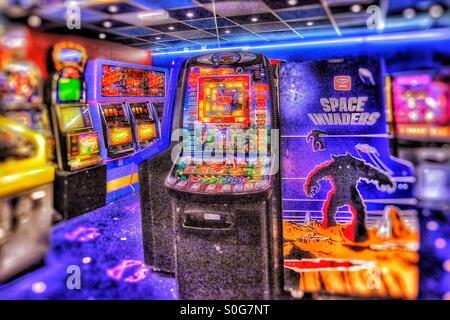 Arcade Foto Stock