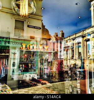 Jolly Margate negozi vintage nella città vecchia Inghilterra Margate Regno Unito Foto Stock