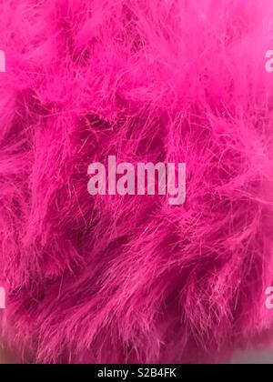 Rosa Tenue Pellicce Artificiali Come Uno Sfondo Decorativo Foto
