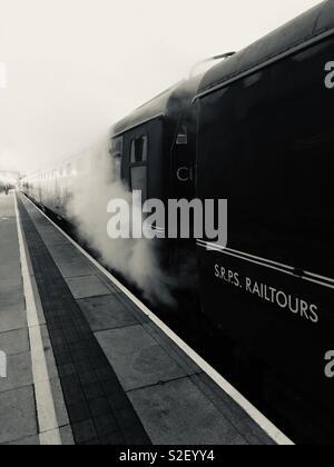 Il Polar Express Birmingham Moor Street Station Foto Stock