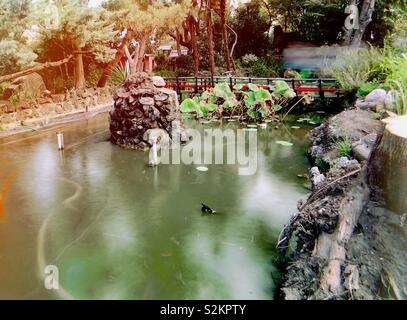 Domenica presso il Park Mizujo Foto Stock
