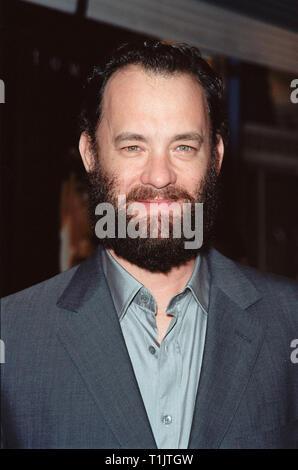 """LOS ANGELES, CA. Dicembre 06, 1999: Attore Tom Hanks in prima mondiale a Los Angeles, del suo nuovo film """" Il miglio verde"""". © Paul Smith / Featureflash"""