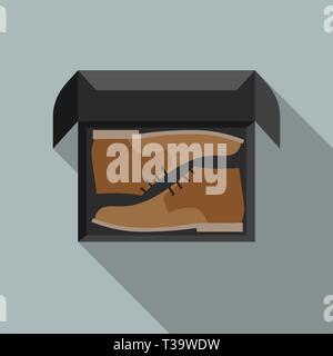 Scarpa uomo Illustrazione Vettoriale: 147808716 Alamy