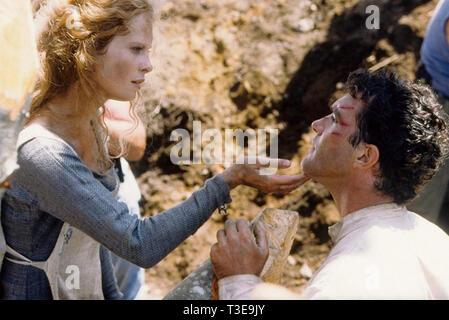 Il 13TH WARRIOR 1999 Touchstone Pictures film con Antonio Banderas e Maria Bonnevie Foto Stock