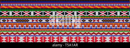 L'ornamento tradizionale degli abitanti dell est e del mondo arabo in cui i ricchi colori attirano buona fortuna e ricchezza. Foto Stock