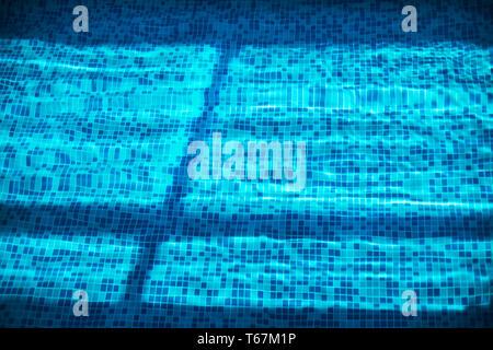 Piastrella texture di sfondo o bagno piscina piastrelle sulla parete