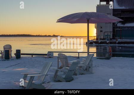 Spiaggia di zucchero in Toronto è un uomo che sulla spiaggia aperto nel 2010 e divenne presto uno dei più famosi punti di riferimento della città. Assolutamente da vedere!