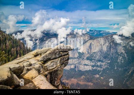 Half Dome in Yosemite National Park, California