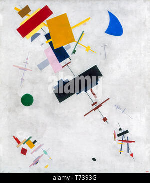 Kazimir Malevich, Suprematism, arte astratta, pittura, 1915