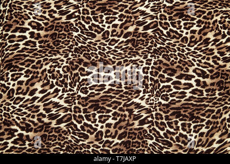 Leopard configurazione di sfondo animale leopard stampa il design tessile tessuto a pelle di leopardo modello senza giunture