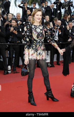 Eva Herzigova che frequentano il 'Rocketman' premiere durante la 72a Cannes Film Festival presso il Palais des Festivals il 16 maggio 2019 a Cannes, Francia | Utilizzo di tutto il mondo Foto Stock