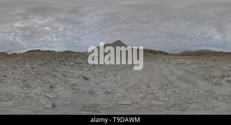 Senza nome Vulcano di fango Foto Stock