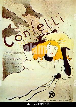 Henri de Toulouse-Lautrec - coriandoli 1894 Foto Stock