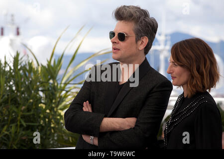 Cannes, Francia. Il 20 maggio 2019. Benjamin Biolay alla camera 212 (Chambre 212) Pellicola fotografica chiamata presso la 72a Cannes Film Festival, lunedì 20 maggio 2019, Cannes, Francia. Photo credit: Doreen Kennedy/Alamy Live News Foto Stock