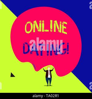 Testo di discussione sulla dating online