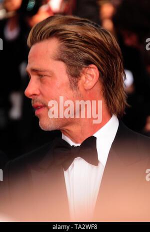 Festival del Cinema di Cannes 21stMay presso un tappeto rosso Brad Pitt Foto Stock