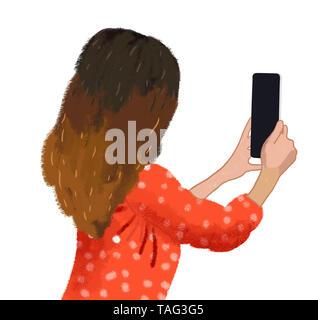 Telefono cellulare selfie