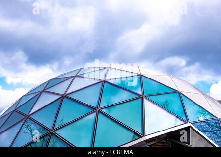 Moderno igloo di Eindhoven, in Olanda, l'Europa.