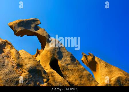 Strano rock, Francia, Corsica, Propriano, Campomoro