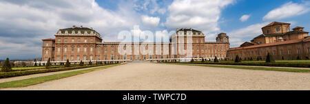 La Reggia di Venaria Reale 1658-1679, antico palazzo, le residenze di Casa Savoia. UNESCO World Heritage Site in Torino Piemonte, Italia Foto Stock