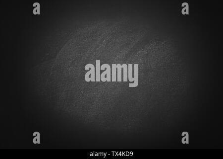 Texture scuro chalk bordo nero e sfondo della scheda