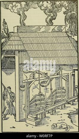 Immagine di archivio da pagina 396 del De re metallica (1950). De re metallica deremetallica50agri Anno: 1950 PRENOTA IX. 359