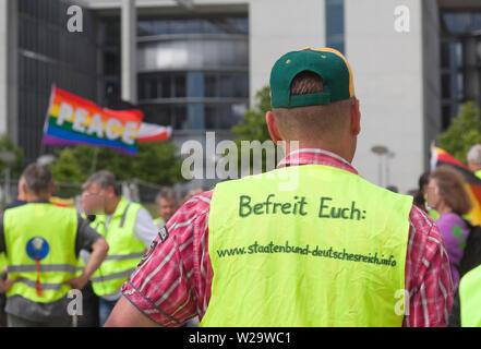 Membro della confederazione del Reich tedesco, Staatenbund Deutsches Reich a Berlino Foto Stock