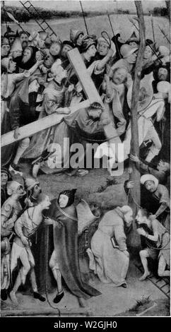 Cristo porta la croce da Hieronymus Bosch Foto Stock
