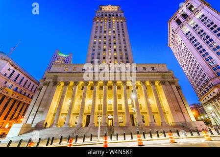 Stati Uniti Court House nel Centro Civico quartiere di New York City.
