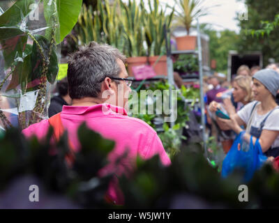 COLUMBIA ROAD flower market, Londra: Foto Stock