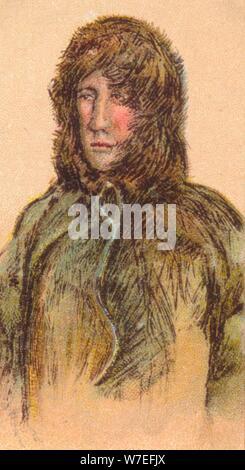 Roald Amundsen (1872-1928), Norvegese explorer, 1916. Artista: sconosciuto Foto Stock
