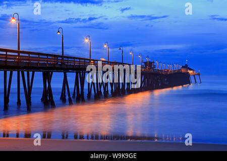 Imperial Beach Pier, San Diego, California, Stati Uniti d'America, America del Nord