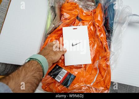 Chiusura del sensore Nike+ logo sulla scarpa da corsa unica  cQW4uq