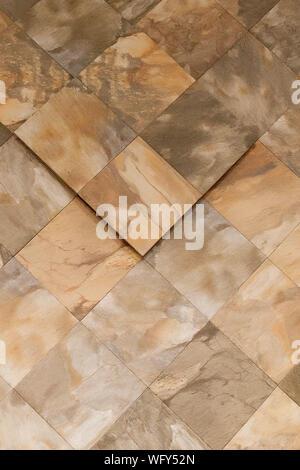 Vero marmo naturale di pietra e texture di sfondo di superficie Foto Stock
