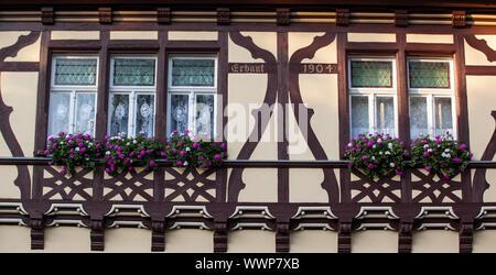 Casa in legno e muratura in harsleben