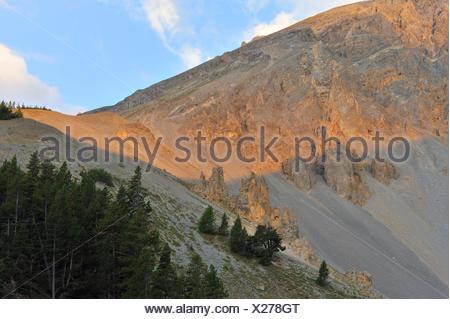 Col de izoard Foto Stock