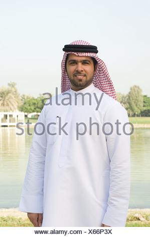 Ritratto di un uomo che indossa un gutra Foto Stock
