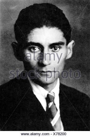Kafka, Franz, 3.7.1883 - 3.6.1924, poeta austriaco, suo ultimo ritratto, 1923 o 1924,